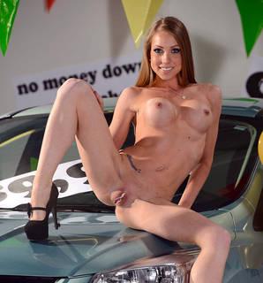 Sexy donna nuda la vagina succosa.